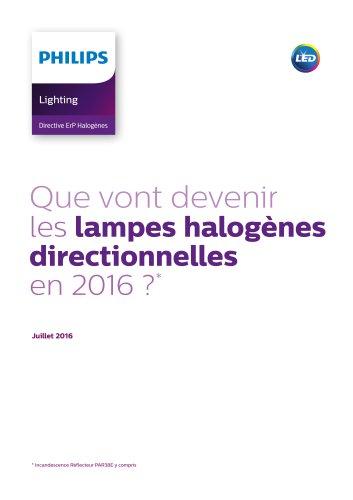 Brochure Directive ErP Halogènes