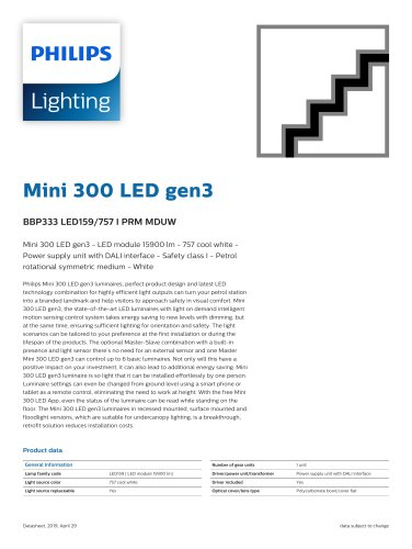 Mini 300 LED gen3