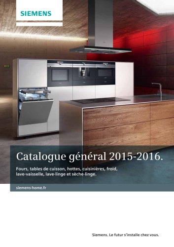 Catalogue général 2015-2016