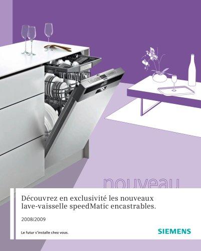 Lave-vaisselle encastrable 2008