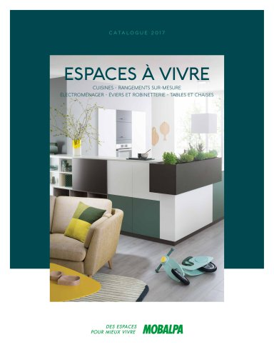 Espaces A Vivre Mobalpa Catalogue Pdf Documentation Brochure