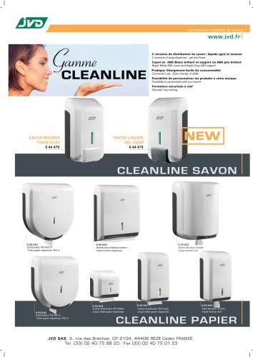 Gamme Cleanline
