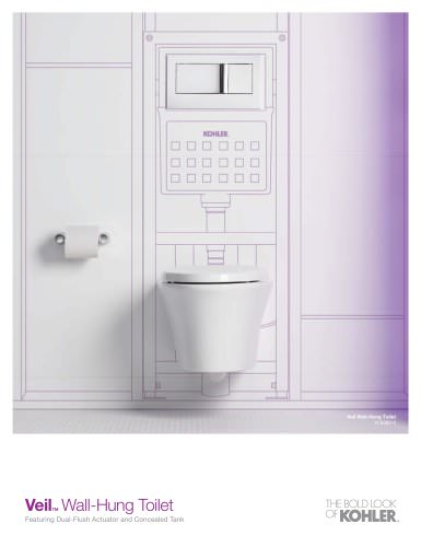Veil Wall-Hung Toilet Sell Sheet