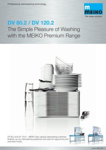 Catalogue Hood-type glass and-dishwashing machines Premium-line DV Series