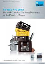Catalogue Universal ware washing machine FV 130.2