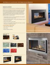 Fortress See-Through Gas Fireplace - 2