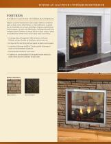 Fortress See-Through Gas Fireplace - 3