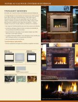 Fortress See-Through Gas Fireplace - 4