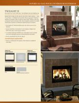 Fortress See-Through Gas Fireplace - 5