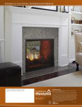 Fortress See-Through Gas Fireplace - 8