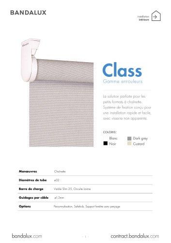 Stores Enrouleurs CLASS