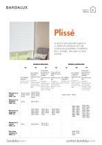 Stores Plissés - 1