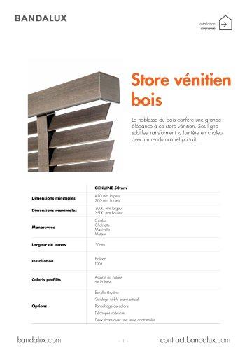 Stores Vénitiens Bois