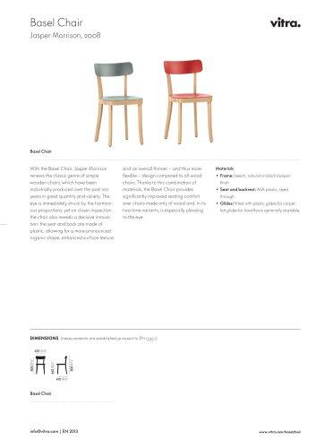 Basel Chair Factsheet