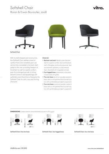 Softshell Chair Factsheet