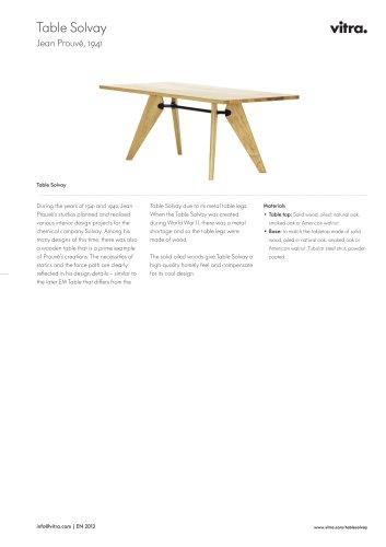 Table Solvay Factsheet