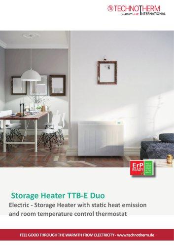 Storage Heater TTB-E Duo