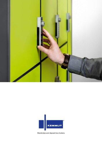 Wardrobe and deposit lockers