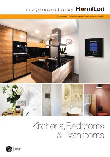 Kitchen, Bedrooms & Bathrooms