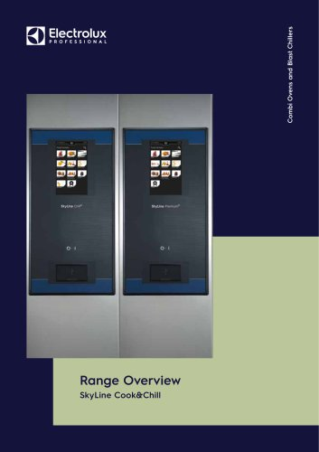 Combi Ovens and Blast Chillers