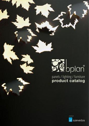 Bplan Panels Lighting and Furniture - Eng