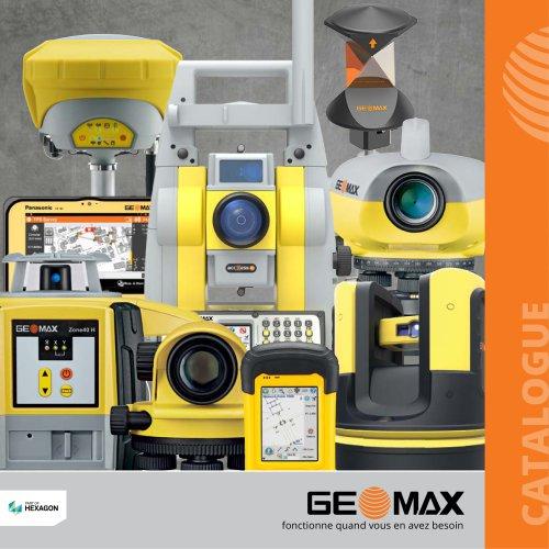 Catalogue général GeoMax