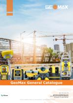 GeoMax General Catalogue