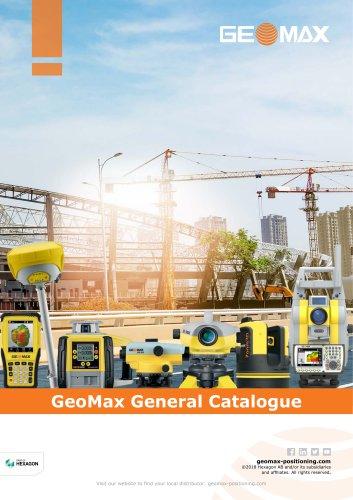 GeoMax General Catalogue