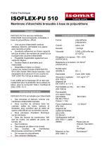 Fiche Technique ISOFLEX-PU 510