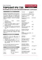 Fiche Technique TOPCOAT-PU 720