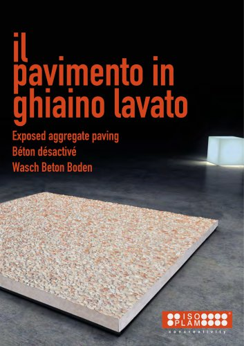 ItalianTerrazzo - exposed aggregate paving