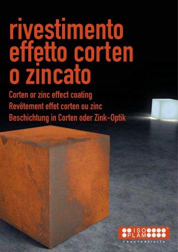 Oxydecor - Rust & Zinc effect