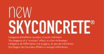 Skyconcrete - nuvolato low thickness floors