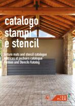 Texture mats and stencil catalogue