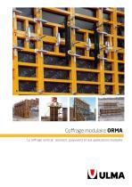 coffrage modulaire ORMA