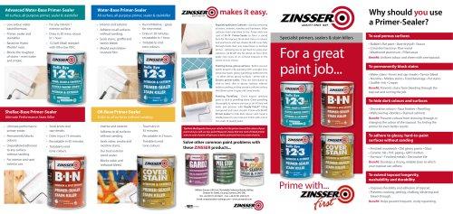 Zinsser® Primers