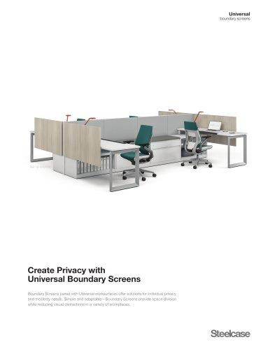 Universal Boundary Screen