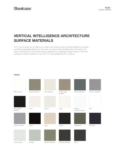 V.I.A. Surface Materials