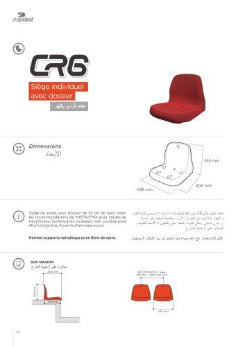 sièges CR6