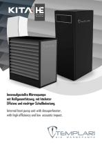 Kita HE. Internal heat pump unit with desuperheater