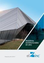 Solutions architecturales en zinc