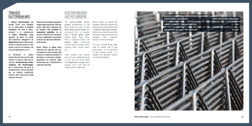 ELECTRO-WELDED LATTICE GIRDERS