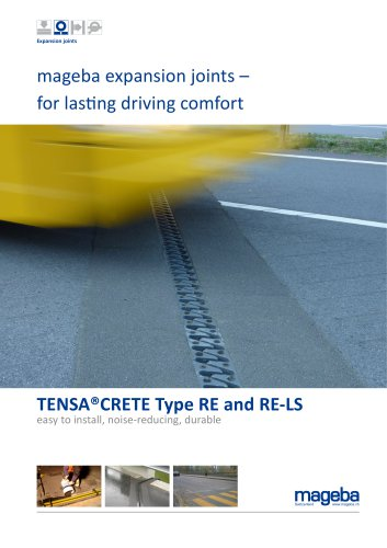 mageba expansion joints – for lasting driving comfort