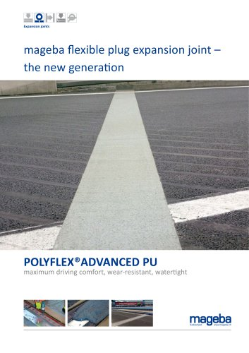 mageba flexible plug expansion joint – the new generation