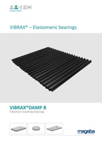 VIBRAX® – Elastomeric bearings