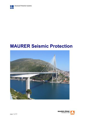 MAURER Seismic Protection