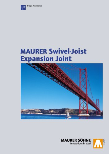 Swivel Joist Expansion Joints