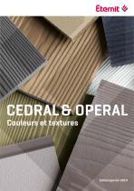 Carte de couleur Cedral - Click - Operal