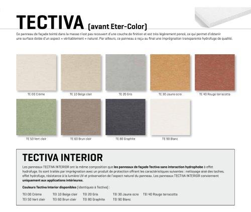 Carte de couleurs Tectiva