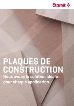 plaque de construction